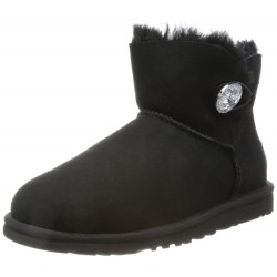 UGG - W Mini Bailey Button Bling 1016554 BLK