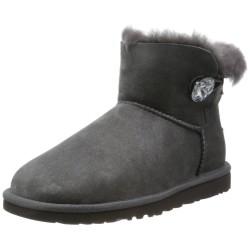 UGG - W Mini Bailey Button Bling 1016554 GREY