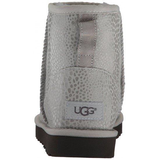 UGG - W CLASSIC MINI GLITZY 1019637 Grey Violet