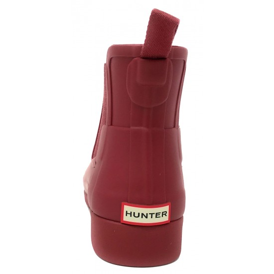 Hunter Original Refined Chelsea Escarlett WFS1017RMA SCT
