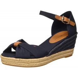 Tommy Hilfiger Basic Open Toe Mid Wedge FW0FW04785 DW5