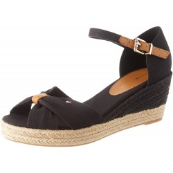 Tommy Hilfiger Basic Open Toe Mid Wedge FW0FW04785 BDS