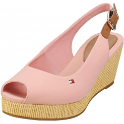 Tommy Hilfiger Iconic Elba Sling Back Wedge FW0FW04788 TQS